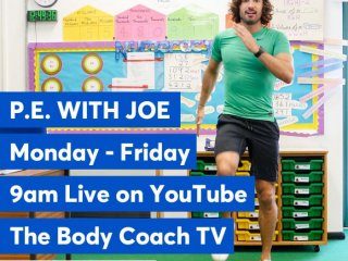 PE with The Body Coach